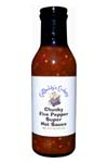 CatDaddy's Chunky Five Pepper Super Hot Sauce
