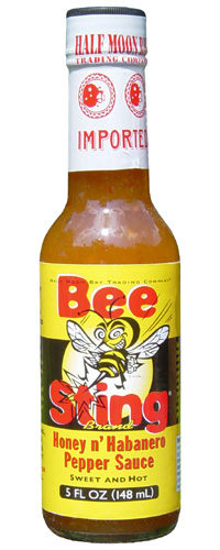 Bee Sting Honey N' Habanero Pepper Sauce