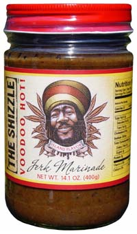 The Shizzle Voodoo Hot Jerk Marinade