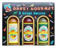 Dave's Gourmet Spicy 3 Pack