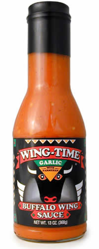 Wing Time Garlic Buffalo Wing Sauce