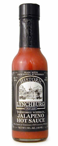 Lynchburg Tennessee Whiskey Hot Sauce