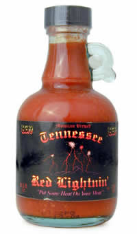 Tennessee Red Lightnin' Hott Chili Pepper Sauce
