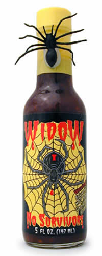 Widow No Survivors Hot Sauce