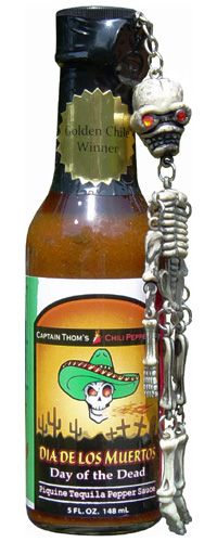Day Of The Dead Piquine Tequila Pepper Sauce