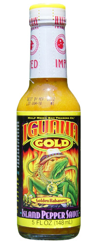 Iguana Gold Island Pepper Hot Sauce