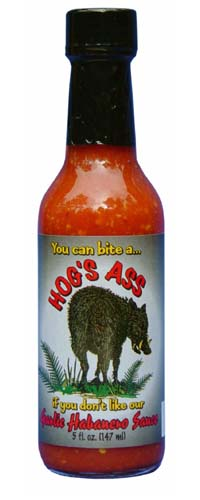 Hog's Ass Garlic Habanero Hot Sauce