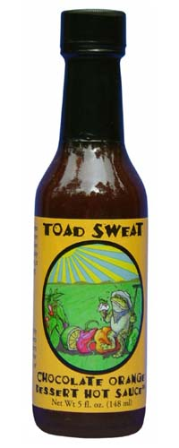 Toad Sweat Chocolate Orange Dessert Hot Sauce