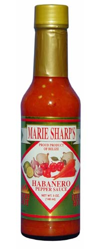 Marie Sharp's Fiery Hot Habanero Sauce