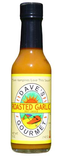 Dave's Roasted Garlic Hot Sauce