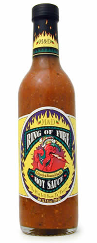 Ring Of Fire Chipotle Hot Sauce