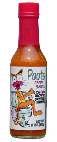 Poots Peppa Sauce