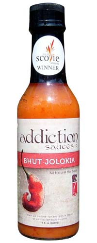 Addiction Bhut Jolokia Sauce