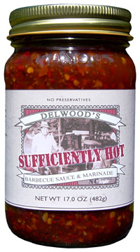 Delwood's Sufficiently Hot Barbecue Sauce and Marinade