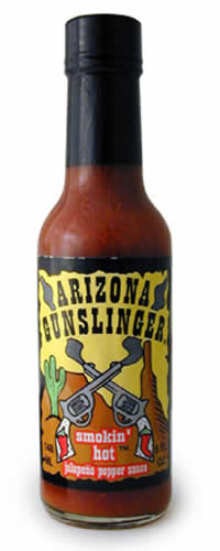 Arizona Gunslinger Smokin' Hot Jalapeno Pepper Sauce