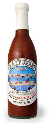 Crazy Jerry's Oyster, Clam And Everything Else Sauce