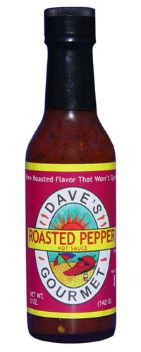 Dave's Roasted Pepper Hot Sauce