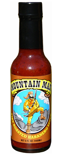 Mountainman Fire Roasted Habanero Sauce
