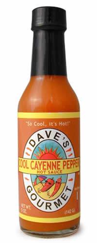 Dave's Cool Cayenne Pepper Sauce