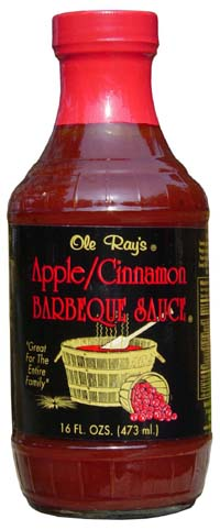 Ole Ray's Apple Cinnamon Barbeque Sauce