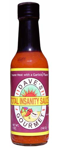Dave's Total Insanity Hot Sauce