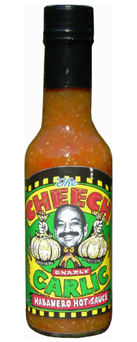 The Cheech Garlic Habanero Hot Sauce