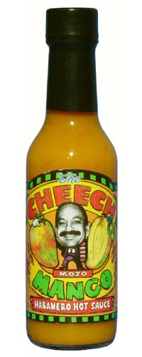 The Cheech Mango Habanero Hot Sauce