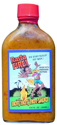 Rasta Fire! Hot, Hot, Hot Sauce