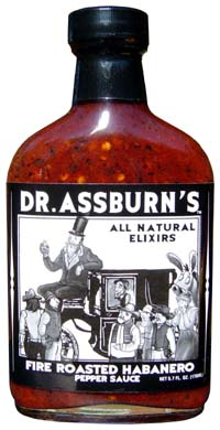 Dr. Assburn's Fire Roasted Habanero Pepper Sauce