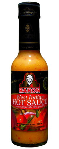 Baron West Indian Hot Sauce