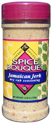 Spice Bouquet Jamaican Jerk Dry Rub Seasoning