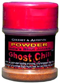 Gourmet & Authentic Ghost Chili Powder