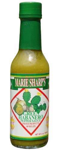 Marie Sharp's Green Habanero Pepper Sauce