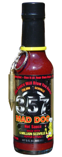 Mad Dog 357 Silver Collectable Edition Hot Sauce