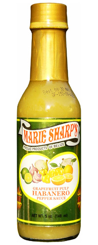 Marie Sharp's Grapefruit Pulp Habanero Pepper Sauce