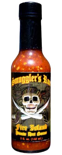 Smuggler's Run Fire Island Pirate Hot Sauce