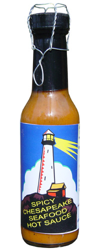 Spicy Chesapeake Seafood Hot Sauce