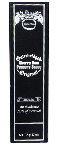 Outerbridges Sherry Rum Pepper Sauce