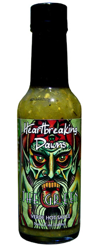 Heartbreaking Dawns The Green Verde Hot Sauce