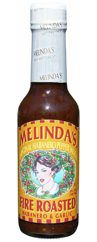 Melinda's Fire Roasted Habanero & Garlic Sauce