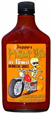 Pappy's Hottest Ride in Town Barbecue Sauce