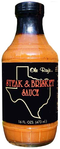 Ole Ray's Steak & Brisket Sauce