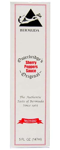 Outerbridges Sherry Peppers Sauce