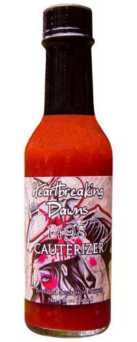 Heartbreaking Dawns Cauterizer Trinidad Scorpion Sauce