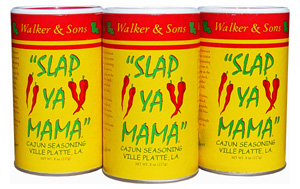 Slap Ya Mama Cajun Seasoning Original 3 Pack