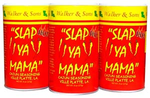 Slap Ya Mama Cajun Seasoning Hot 3 Pack