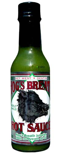 Hog's Breath Hot Sauce Green