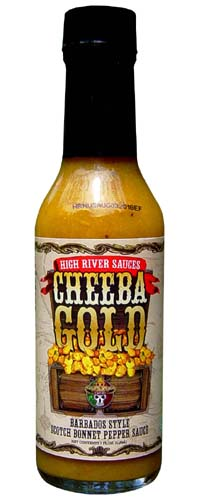 Cheeba Gold Scotch Bonnet Pepper Sauce