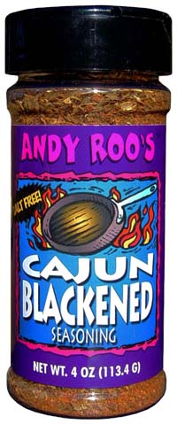 Andy Roo's Cajun Blackening Seasoning